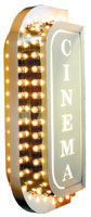 Bass Ind. Cinema Identity Signs: Classic Chaselite