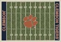 Clemson Tigers College Football Field Rug