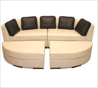 Bass Ind. The Concorde Modular Sofa Leather