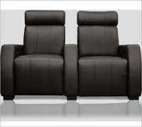 Bass Ind. Executive Row of 3: Leather or Velour