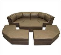 Bass Ind. Futura Modular Sofa Leather