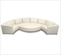 Bass Ind. The Latitude Modular Sofa Leather: Unit Pieces