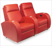 Bass Ind. Olympia LoveSeat: Leather or Velour