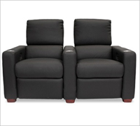 Bass Ind. Penthouse LoveSeat: Leather or Velour