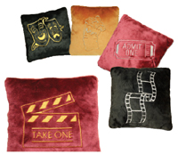 Bass Ind. Theatrical Plush Pillows