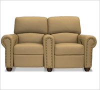 Bass Ind. Showtime LoveSeat: Leather or Velour
