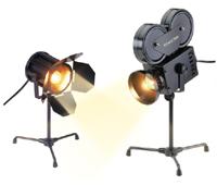 Bass Ind. Studio Accent Lamp