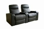 Cannes Home Theater Seats (2) Black
