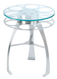 Bass Ind. Reel Art: Tripod Table